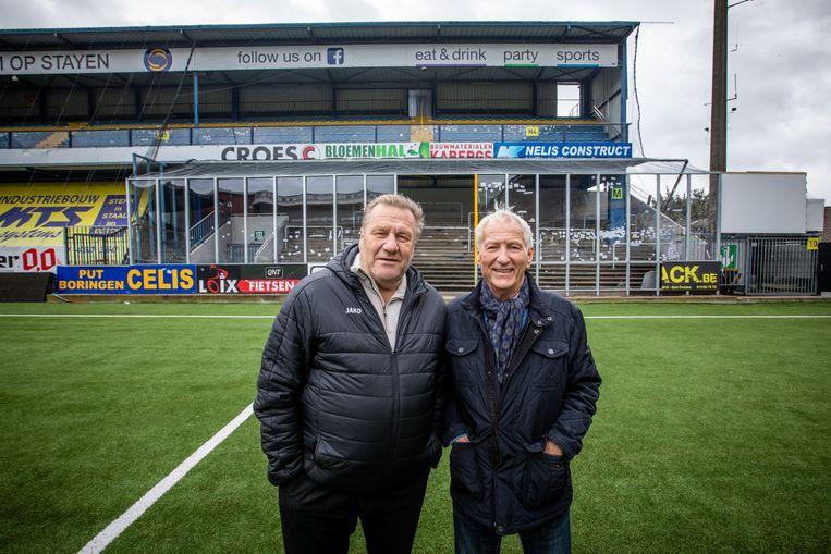 """Johan Boskam en Lon Polleunis: """"Ik begrijp niet waarom ze zo'n kooi bouwen. Dit is toch niet meer van deze tijd."""""""