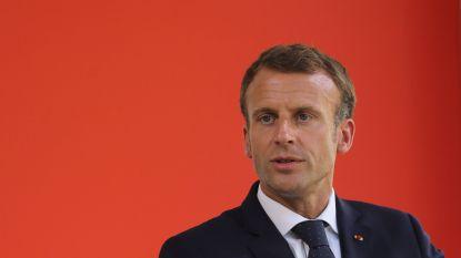 """Macron haalt stevig uit naar leiders brexitcampagne: """"Leugenaars"""""""