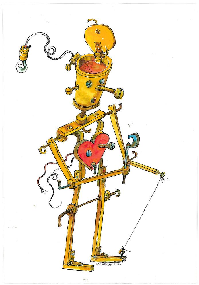 Wim Hofman: De mens een machine