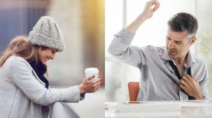De een lijkt het altijd koud te hebben, de ander klaagt over warmte: hoe kan dat?