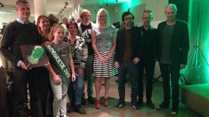 De Buurderij ontvangt eerste 'Groene Pluim'