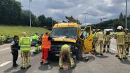 File op Antwerpse Ring richting Nederland door ongeval in Borgerhout