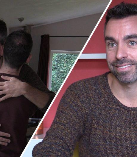 Emile is knuffelcoach in coronatijd: 'Zo kun je jezelf knuffelen'