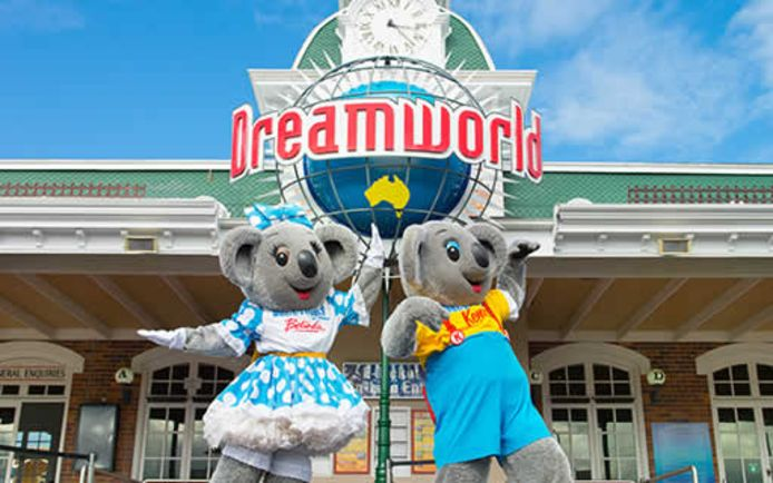 Le parc d'attractions Dreamworld