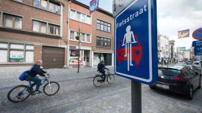 Politie controleert fietsers en autobestuurders in Fietsstraten