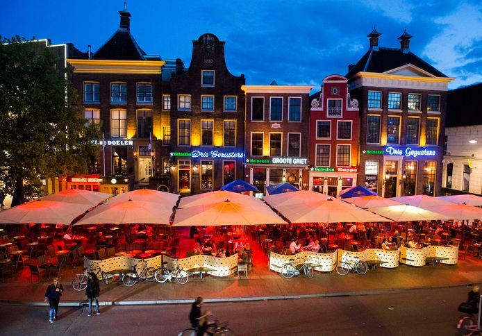 Archiefbeeld van de Grote Markt in Groningen