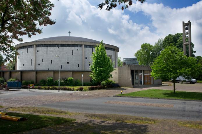 De Raphaël-Exoduskerk aan de Haydnlaan. Het gebouw is enkele jaren geleden al verkocht aan de chaldese Apostel Thomasparochie.