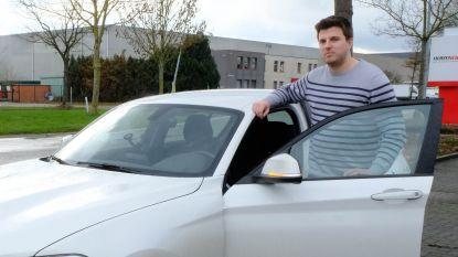 """Michiel (21) werd klemgereden en bedreigd: """"Gelukkig was mijn wagen op slot, anders was ik hem misschien kwijt"""""""