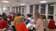 Laatstejaarsstudenten Vesaliusinstituut campus Ronse doen ervaring op in ziekenhuis Geraardsbergen