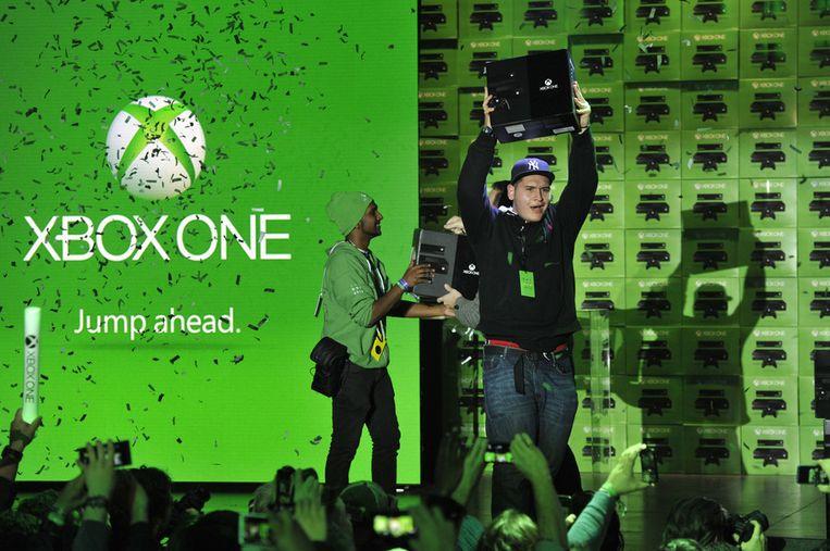 De eerste Amerikaanse fans kregen vandaag hun Xbox. Beeld null