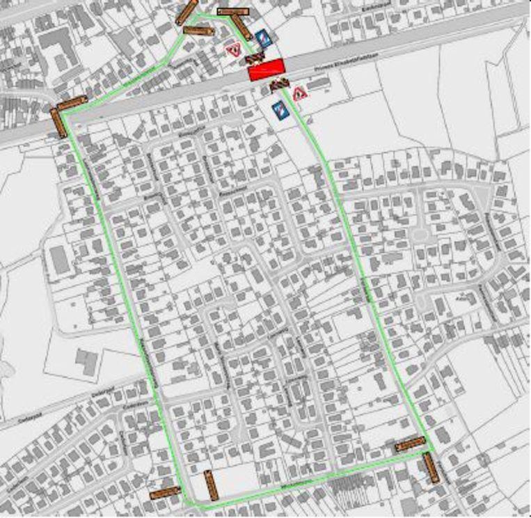 De overweg in de Pontstraat in Astene wordt twee dagen afgesloten voor werken.