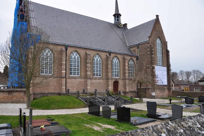 De Hervormde Kerk in Waspik.