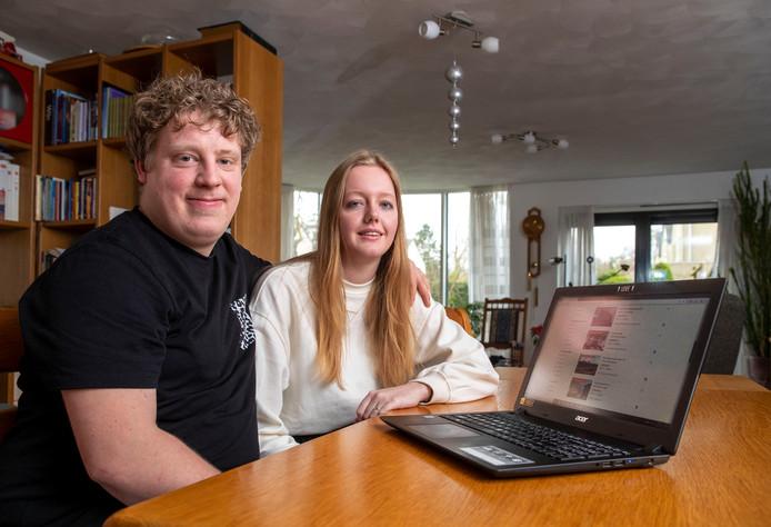 Berry Kramer en Hanneke van den Brink gaan dit jaar trouwen maar kunnen door het tekort aan betaalbare woningen geen huis vinden in Veenendaal of Ede