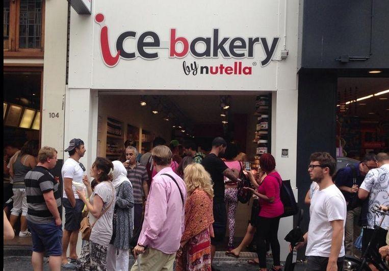 Filiaal in de Leidsestraat Beeld Ice Bakery