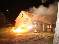 Op deze plekken in Waardenburg is brand geweest in aanloop naar het nieuwe jaar