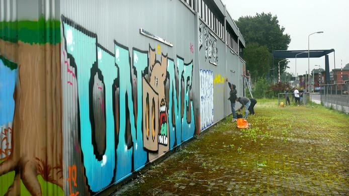 Vierde Graffiti Jam in Roosendaal weer groter feestje met toevoeging van nieuwe hal (The Loods 2.0)