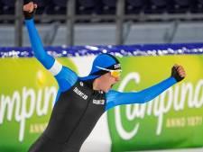 'De adrenaline giert nog rond' bij Beau Snellink (19) na sterk NK allround