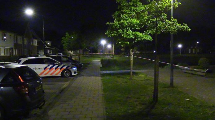 Het slachtoffer werd neergestoken op een grasveldje voor jongerencentrum De Lichtenberg in Silvolde.