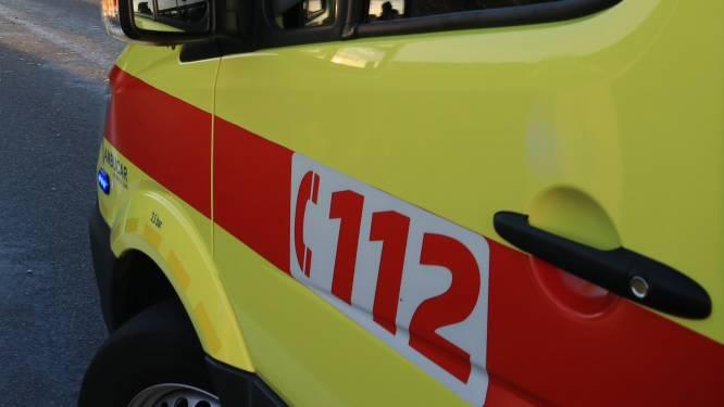 Twee gewonden bij ongeval op brug