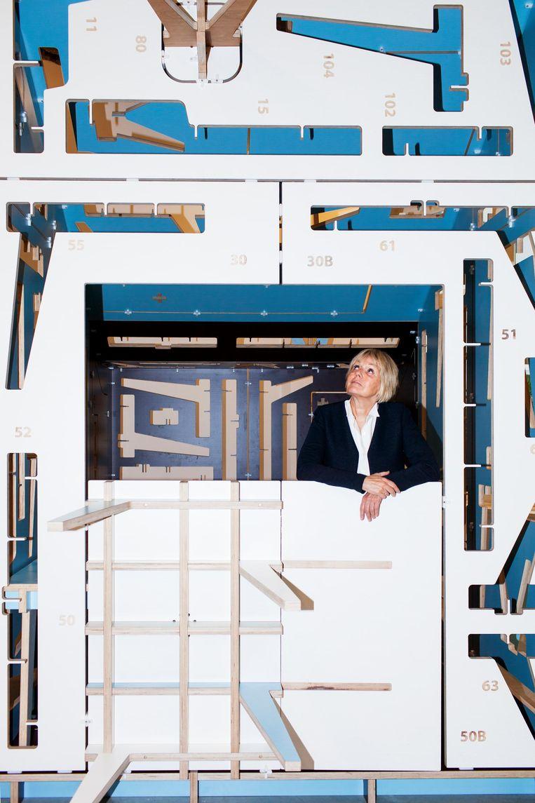 'Als je ontwerpen loskoppelt van de fysieke uitkomst, een product, ben ik eigenlijk zelf een ontwerper' Beeld Renate Beense