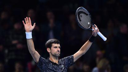 Novak Djokovic dicht bij halve finale ATP Finals na tweede zege - Agnieszka Radwanska stopt ermee