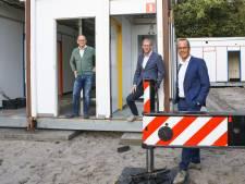 Voedselbank Nijkerk bijna klaar voor verhuizing: mobiel onderkomen bij korfbalvereniging geplaatst