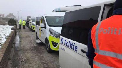 Politie en VlaBel halen 5.000 euro op bij verkeerscontrole