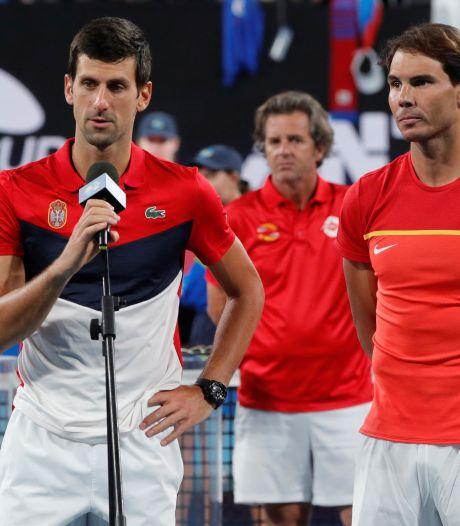 Djokovic et Nadal présents à la deuxième édition de l'ATP Cup
