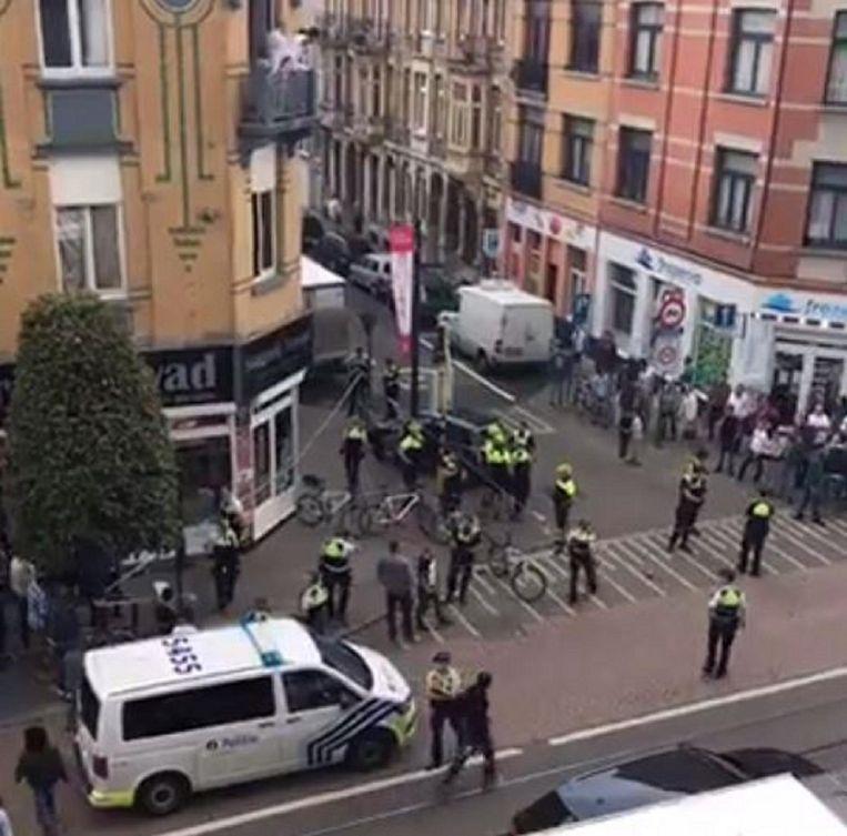 Vorige week vrijdag escaleerde de situatie ook tussen jongeren en de politie in Borgerhout