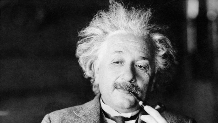 Albert Einstein. Beeld null