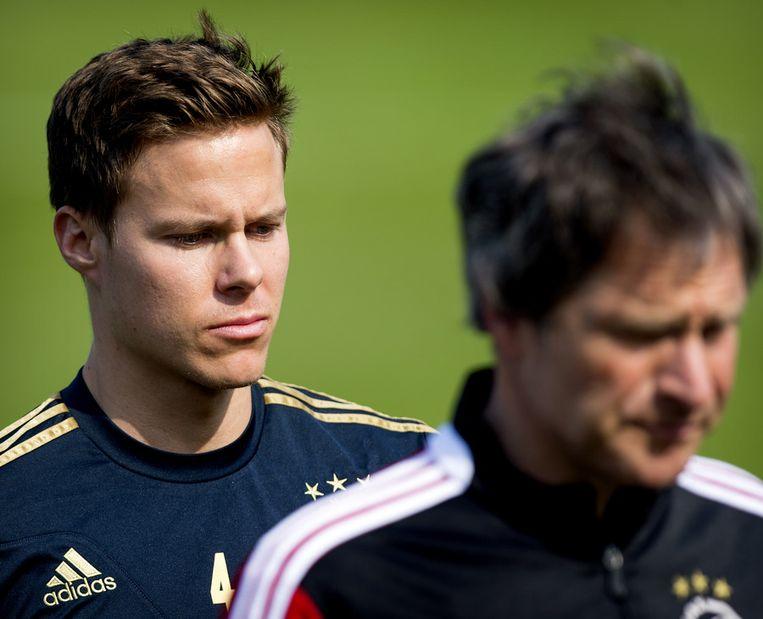 Niklas Moisander is er vandaag niet bij, als Ajax het in Almelo opneemt tegen Heracles. Beeld anp