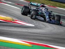 Mercedes maakt indruk met toptijden, Giovinazzi maakt meeste kilometers