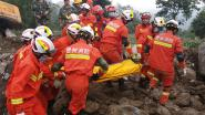 Twaalf doden en meer dan dertig personen vermist na aardverschuivingen in China