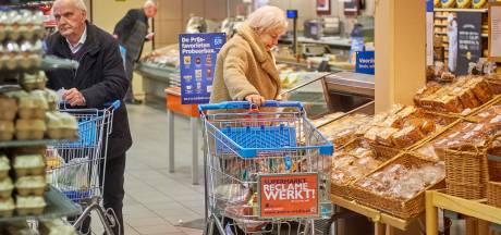 Seniorenuur Albert Heijn valt in Nuland in de smaak: 'Lekker rustig'