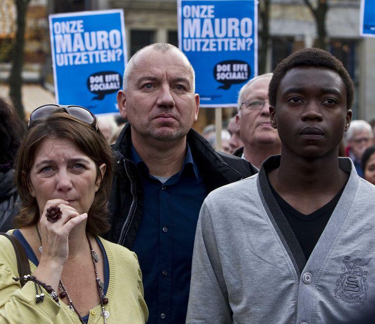 De Angolese asielzoeker Mauro kwam uiteindelijk in aanmerking voor het kinderpardon. Beeld ANP