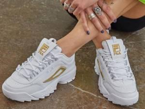 Les baskets à semelles compensées mauvaises pour vos pieds