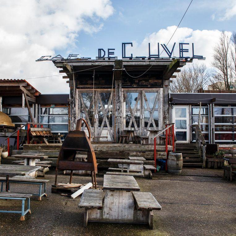 Café De Ceuvel in Noord. Beeld Carly Wollaert
