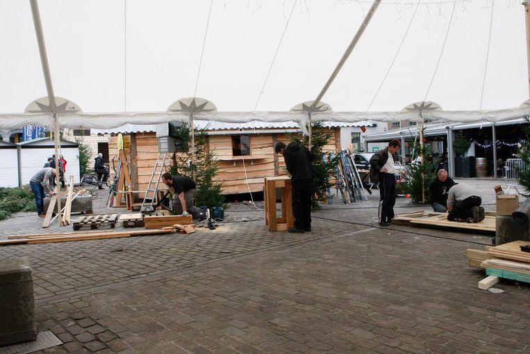 Winterfeest op de Grote Markt in Aarschot enkele edities geleden.