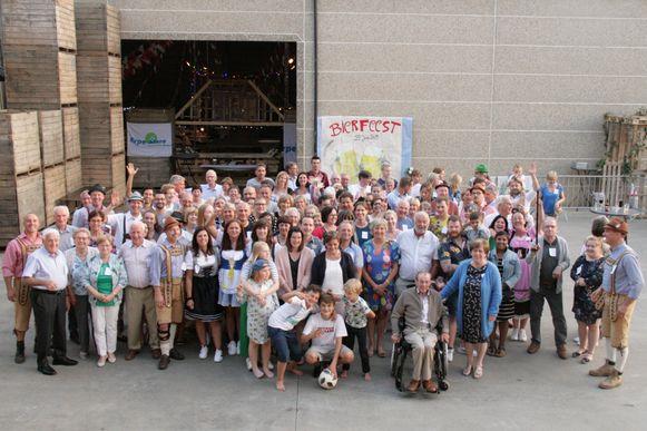 Het buurfeest van de Gentsestraat kende met 125 deelnemers een mooie opkomst.