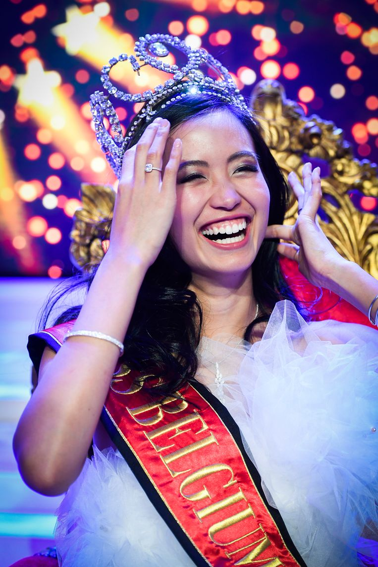Filipina wins Miss Belgium 2018