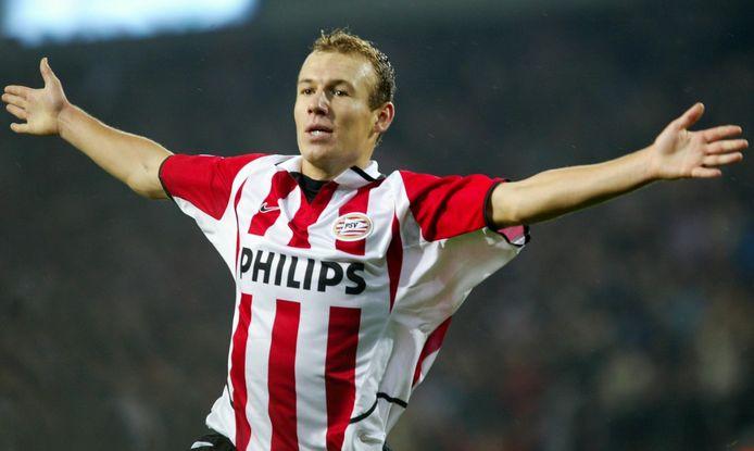 Robben in dienst voor PSV.