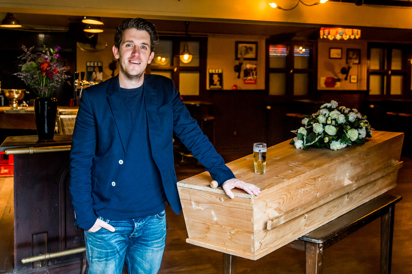 Freek Haverman organiseert afscheidsdiensten voor mensen die weten dat ze doodgaan.