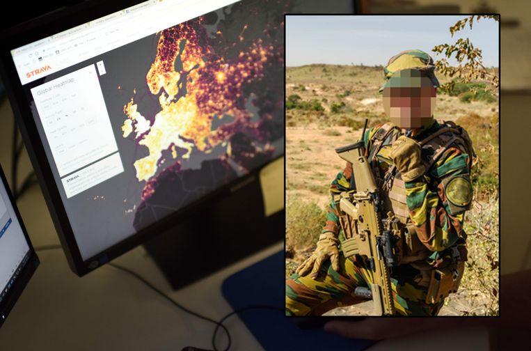 Defensie verbood het gebruik van Strava in gevoelige gebieden, maar een jaar later staan er nog tal van looproutes van militairen online.