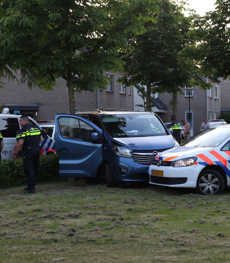 Vluchtende chauffeur met kind gepakt na achtervolging