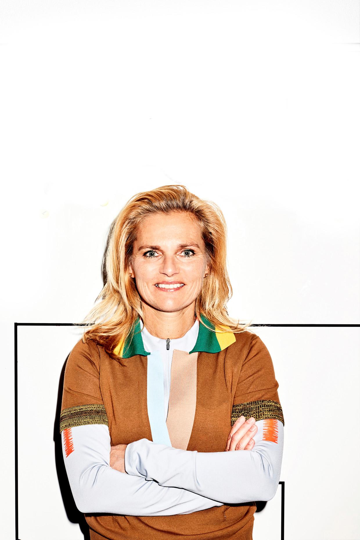 Sarina Wiegman. Beeld Valentina Vos
