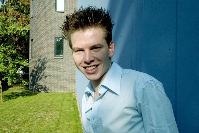 Artistiek leider Sander Eckhardt van Het Nieuwe Theater zwijgt in alle talen.