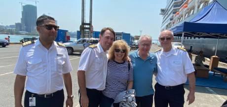 Servaas Dankers uit Tilburg eindelijk van cruiseschip De Westerdam: 'Het werd erg rustig op de dansvloer'