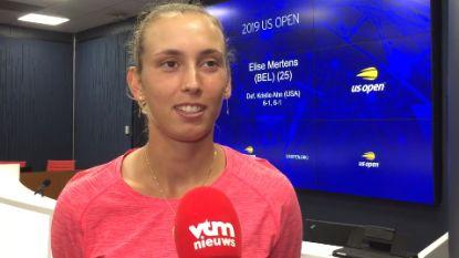 """Mertens verloor nog maar 16 games op US Open: """"Klaar voor eerste kwartfinale"""""""