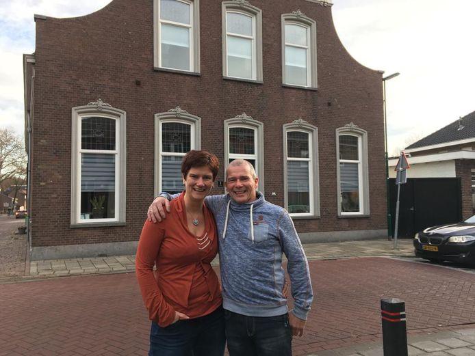 Renske en Wim van B & B Het Voorhuis.
