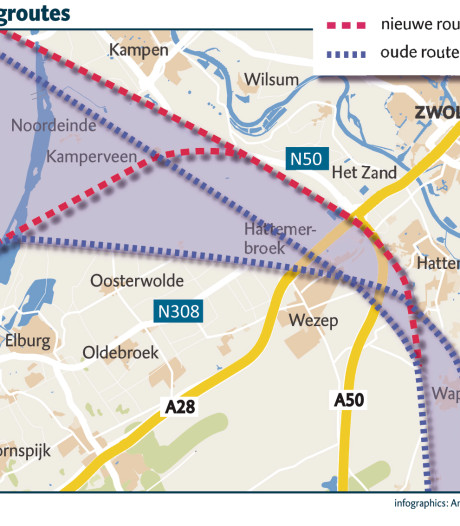Voltallige gemeenteraad Hattem boos: 'Verleggen laagvliegroute Lelystad Airport volstrekt onaanvaardbaar'